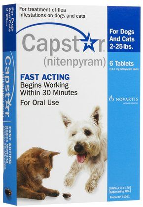Capstar® is an oral tablet for dogs and cats which kills