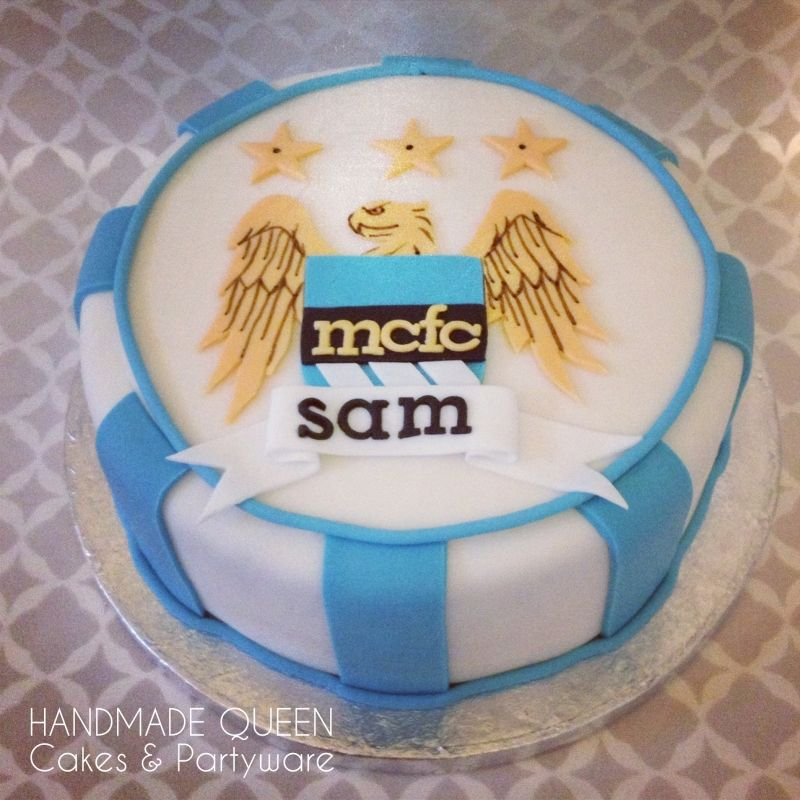 Manchester City Football Birthday Cake ideas for my dads bday