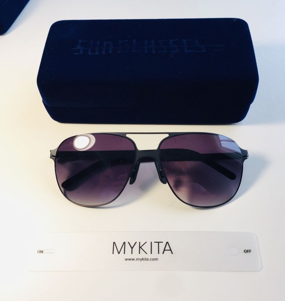 721a9453e0 Mykita Schorsch Frame Metal Black Lenses Glasses Black Sunglasses Germany  UV400  fashion  clothing