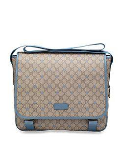 8f6c29fcfdba Gucci - Kid's Micro GG Supreme Canvas Stars Diaper Bag   Diaper Bags ...
