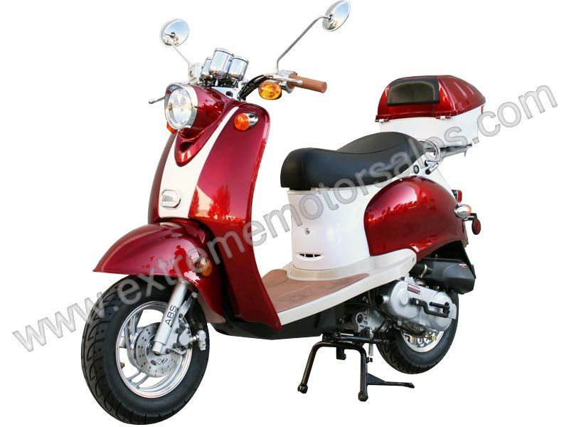 motor scooter classic 50cc scooter moped 49cc street. Black Bedroom Furniture Sets. Home Design Ideas