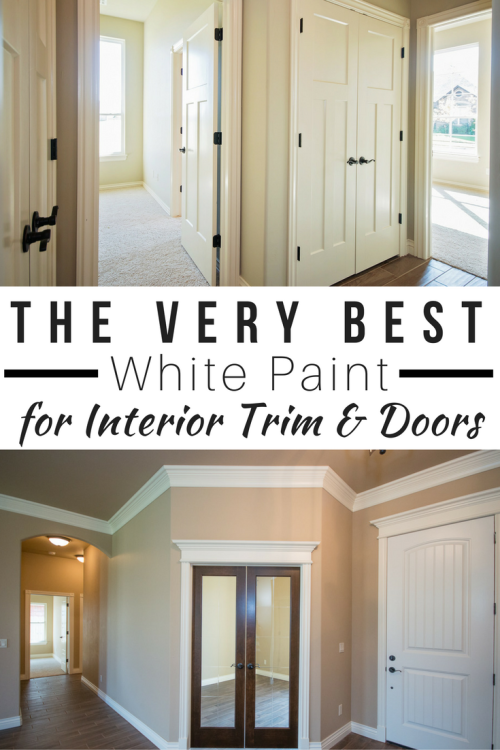 White Paint For Interior Trim And Doors