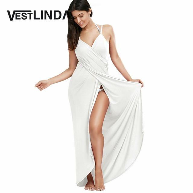 28c19f0fd96 Sexy Long Beach Dress