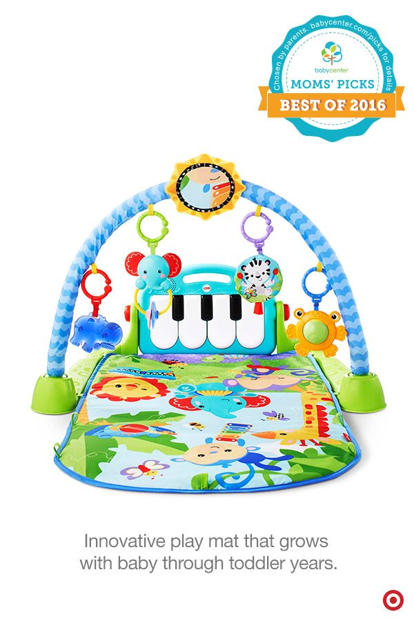 The Fisher Price Kick Amp Play Piano Gym Is A Babycenter