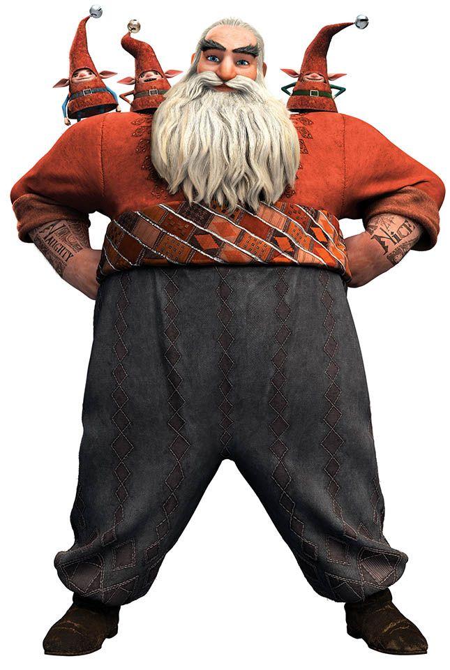 Foto Personaje Norte O Santa Claus Rise Of The Guardians Guardians Of Childhood Guardian