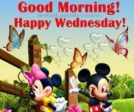 Good Morning Happy Wednesday Disney Quote