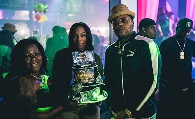 "KEVIN GATES "" They made me and @realdrekagates - a cake - #Dallas #BWA #FuckYoDJ #Whatchudoin @Jazzi_cakes_by_jazzi "" @kvngates #iamkevingates #KevinGates"