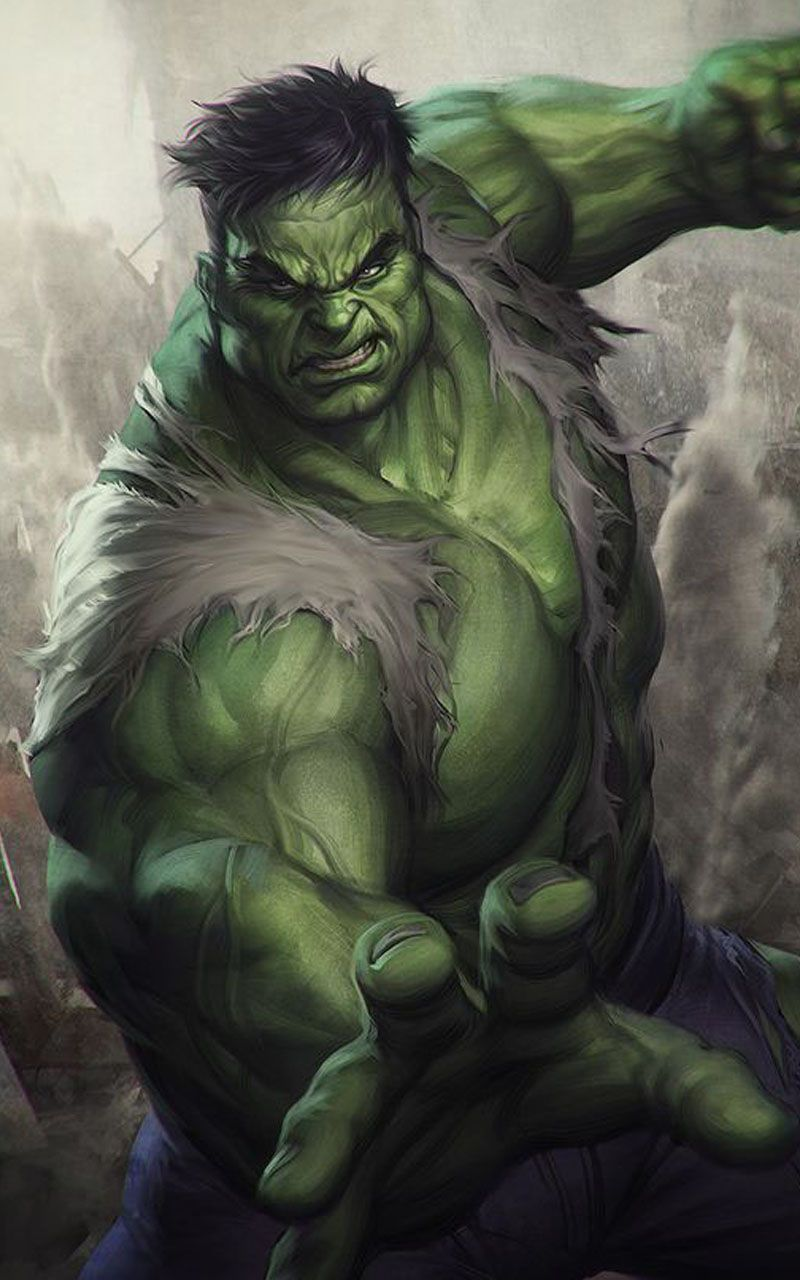 Wallpaper Hulk Full Hd Hulk Comic Hulk Marvel Hulk
