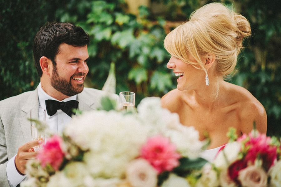 #hairstyles Photography by benjhaisch.com Floral Design by floraloccasions.com  Read more - http://www.stylemepretty.com/2013/02/01/san-juan-capistrano-wedding-from-benj-haisch/