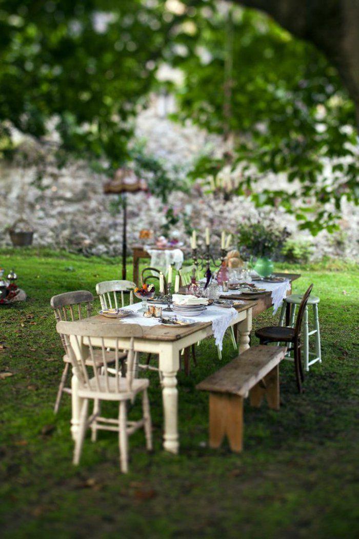 Comment choisir une table et chaises de jardin!   Idées de jardin ...