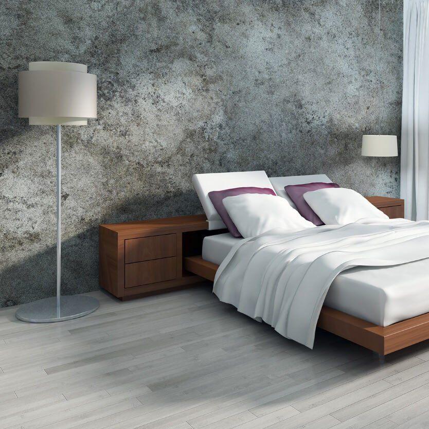 Dallas Wood Effect Floor Tiles in Bedroom Tile bedroom