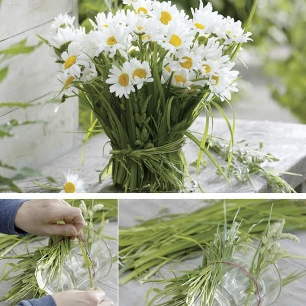 4 ideas para decorar con flores silvestres   Flores silvestres ...