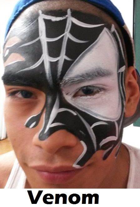 Black Spiderman Venom ...