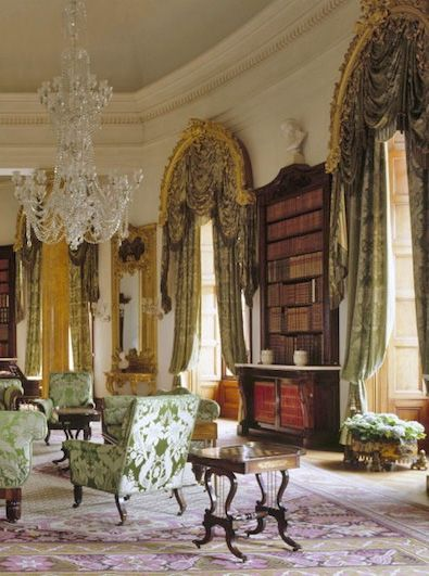 Downton Abbey Drawing Room: Downton Abbey Inspired Design Curated By Trina McNeilly Of
