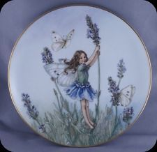 Cicely Mary Barker The Lavender Fairy Flower Fairies Collector Plate With Images Flower Fairies Cicely Mary Barker Fairy