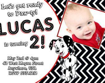 Cool 101 Dalmatians Birthday Party Invitation Ideas Bagvania