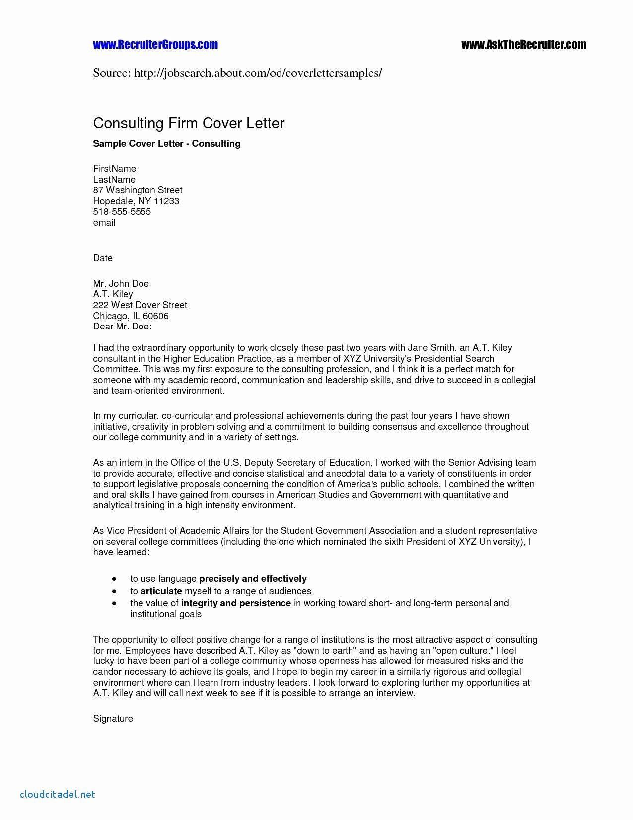 Cover Letter Template Higher Education Job cover letter