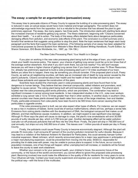 writing a good argumentative essay argumentative essay - argumentative essay