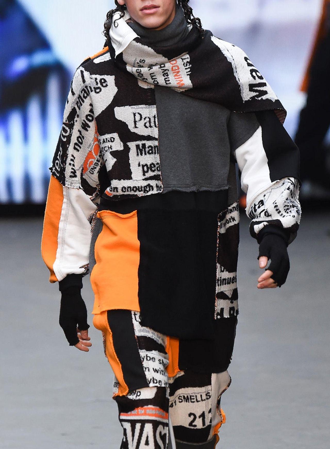 Liam Hodges F/W 2015 Menswear London Fashion Week LCM