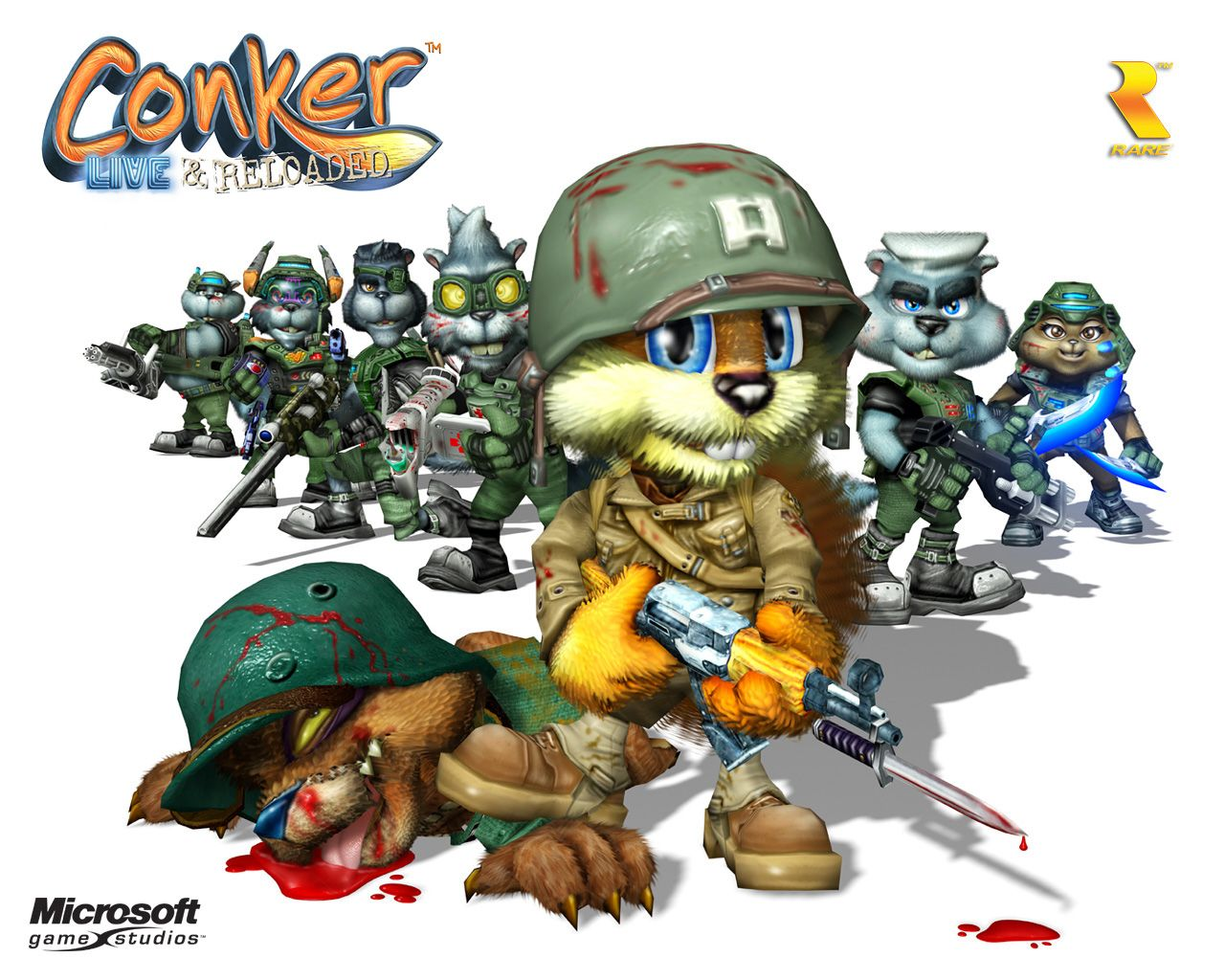 Conker Wallpaper cover art