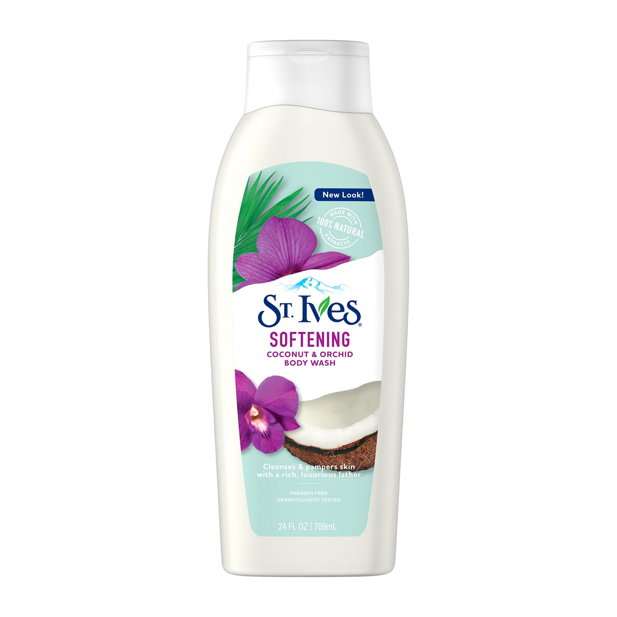 St. Ives Soft and Silky Coconut and Orchid Body Wash 24 oz