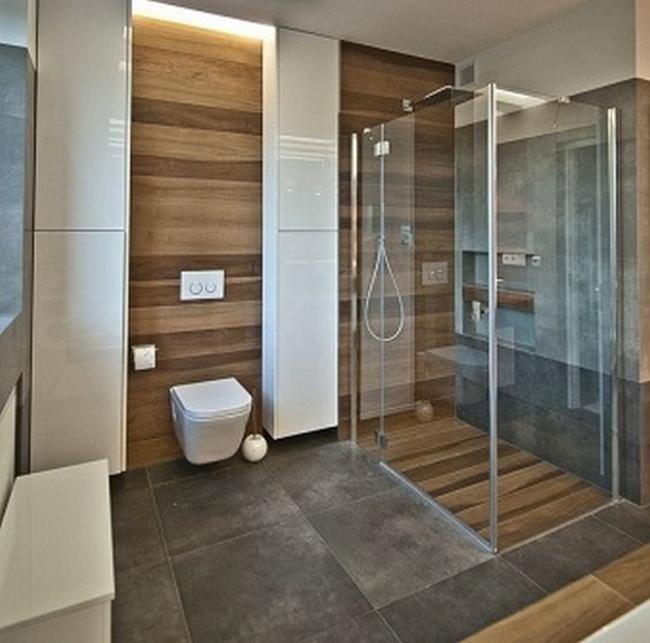 50 teak badezimmer inspirationen heim und garten for Kleines bad modernisieren