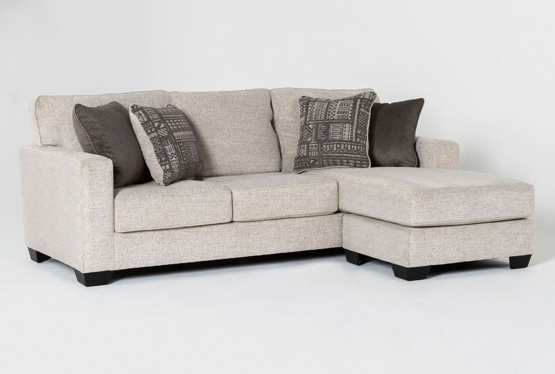 Ashley Marcos Sofa With Reversible Chaise Beige 550 In 2020