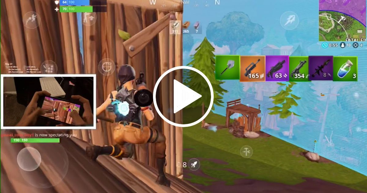 Fortnite Mobile Gaming Videos Iphone 8 Iphone 8 Plus Iphone