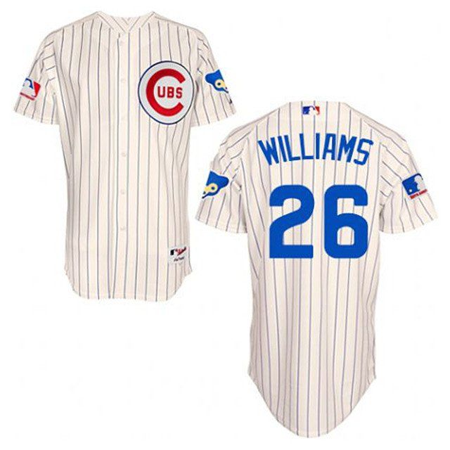 best cheap cb307 bad60 Chicago Cubs 1969 Throwback Billy Williams Mitchell & Ness ...