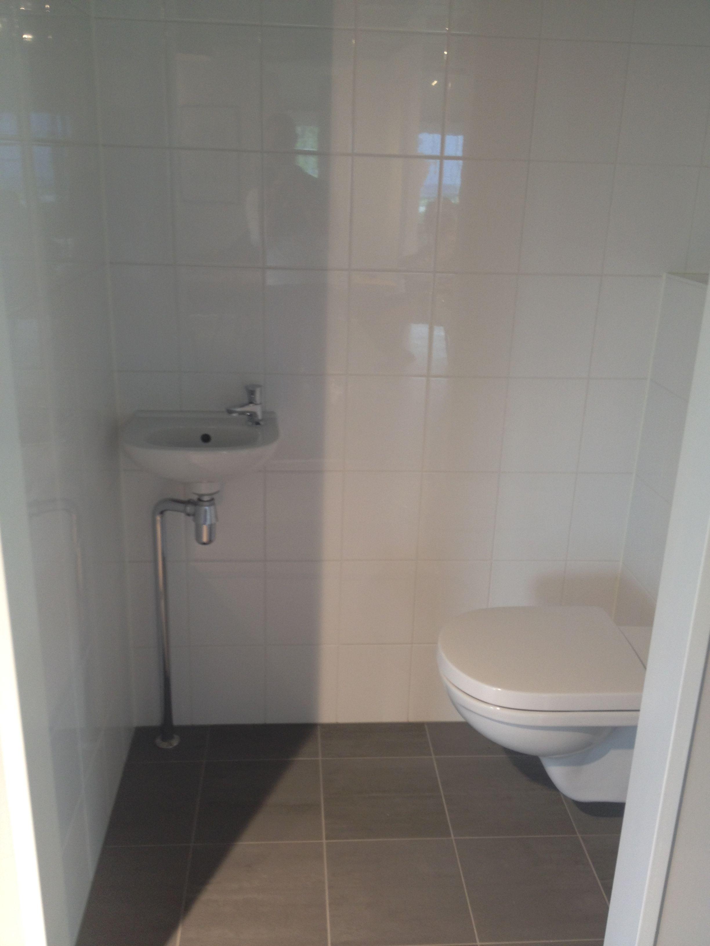 Badkamer En Toilet Muurtegel Deze Zijn Verticaal, Maar Worden Horizontaal