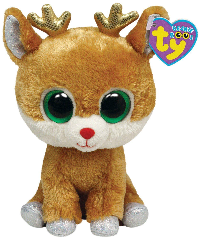 8f7865c3f9e Amazon.com  Ty Beanie Boos Alpine - Reindeer  Toys   Games