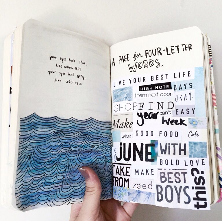 This is a picture of Canny Wreck This Journal Printable Pages