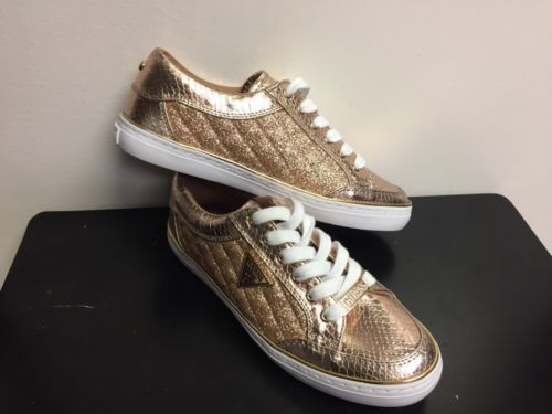 GUESS Rose Gold Fashion Sneakers/Tennis Shoe -Womens Size: 75 M | eBay
