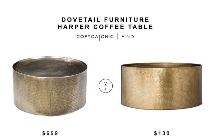 Dovetail Furniture Harper Coffee Table For 659 Vs Target