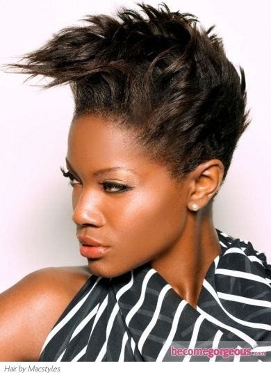 Pin By L Spears On Short Relaxed Hair Pinterest Short Haircuts