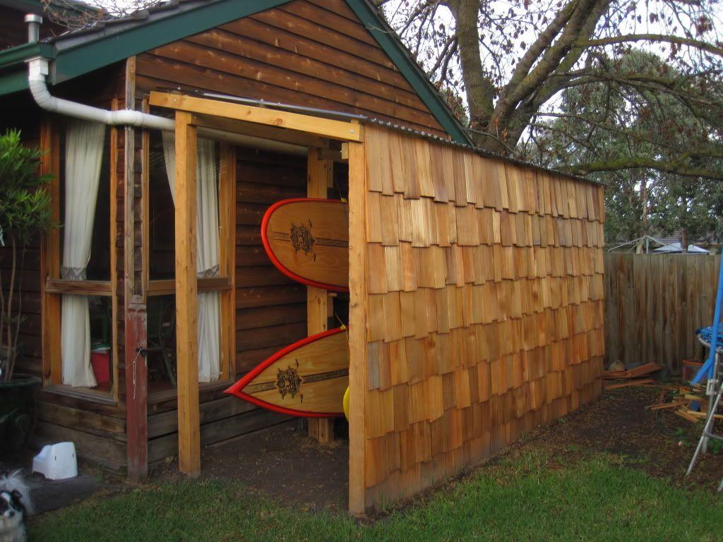 Outdoor Storage Sheds Kayak Storage