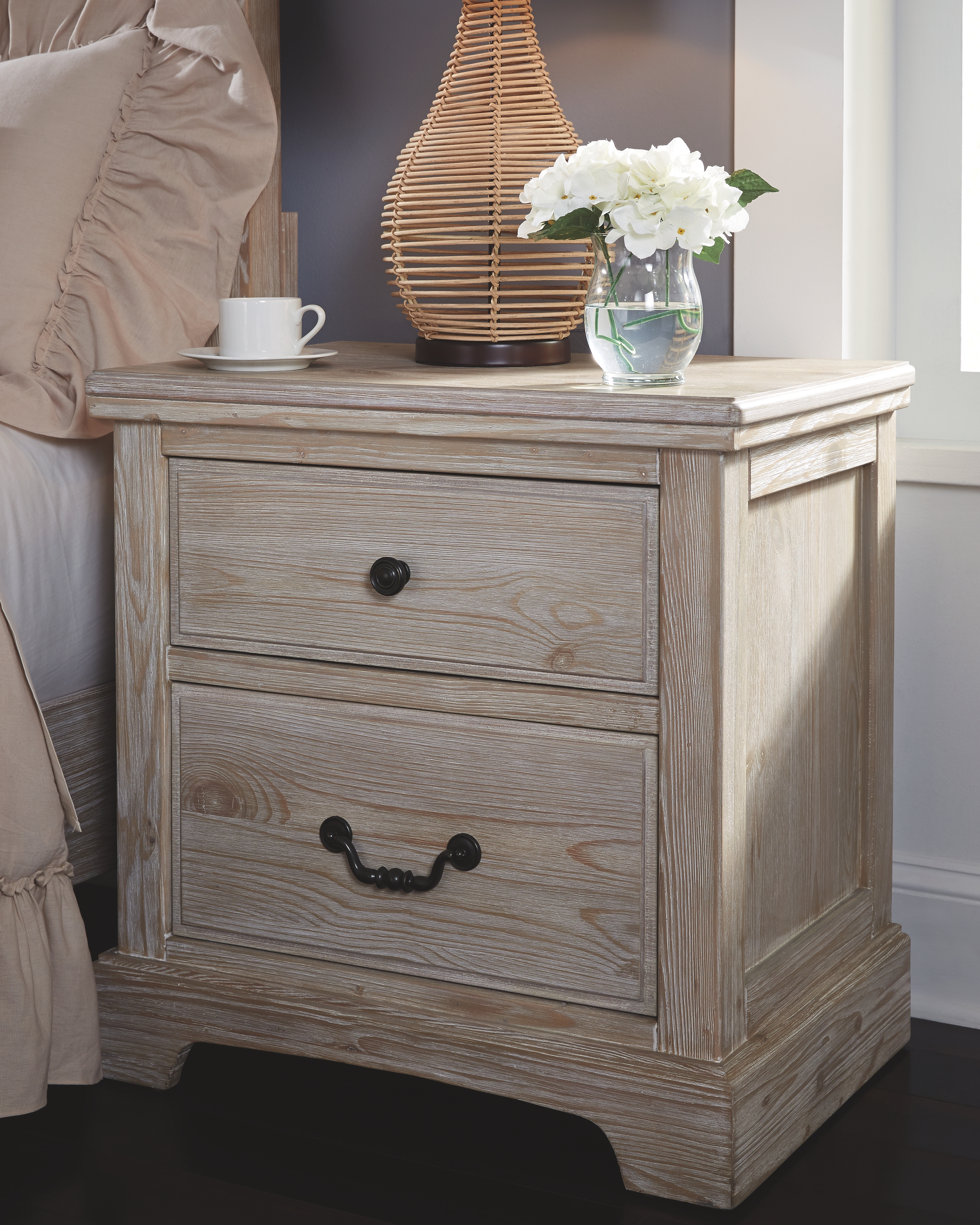 Charmyn Nightstand White Wash White Washed Furniture Bedroom Night Stands Furniture