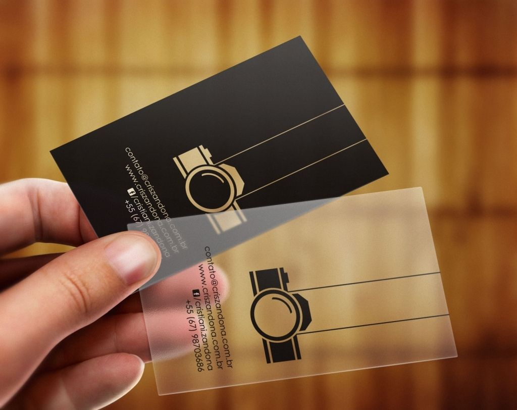 12 Epic Die Cut Photography Business Cards