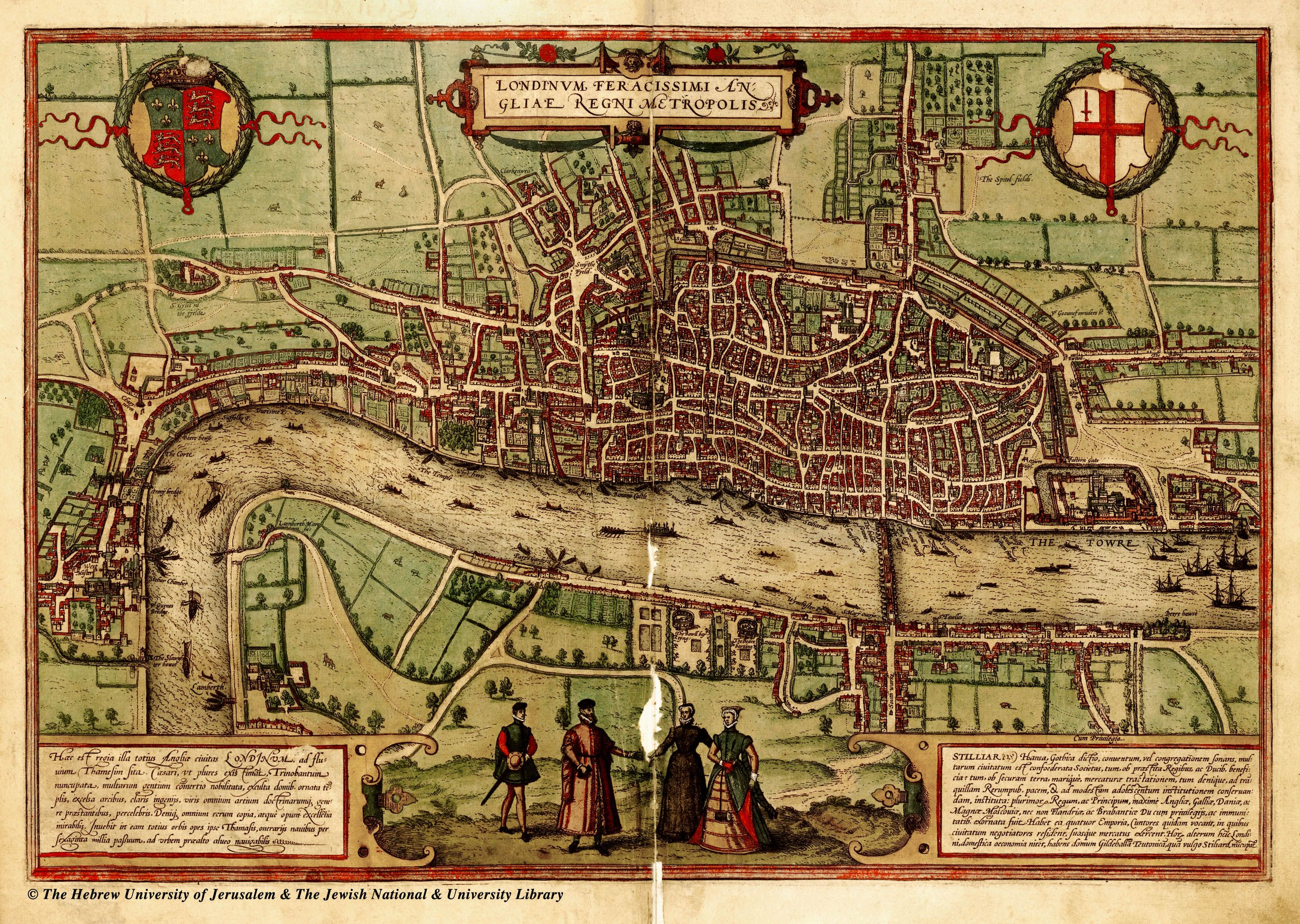 Amazing Maps of Medieval Cities Amazing Maps