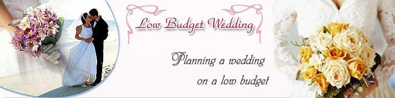 Small Budget Wedding Planning A On Low