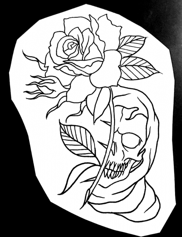 Nét tattoo sketches in 2020 Tattoo stencil outline