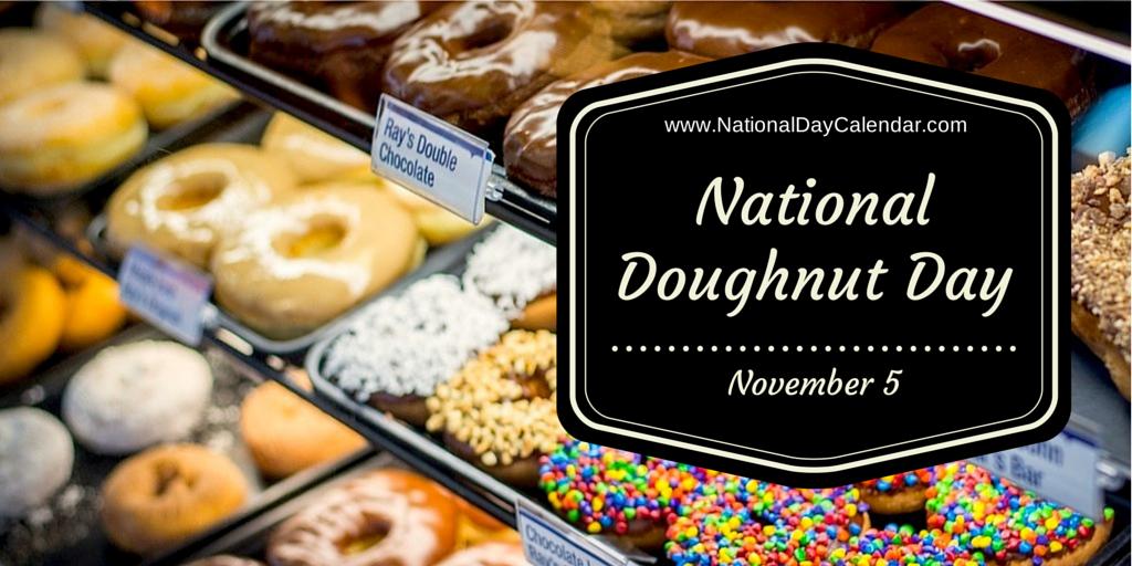 Image result for national donut day november