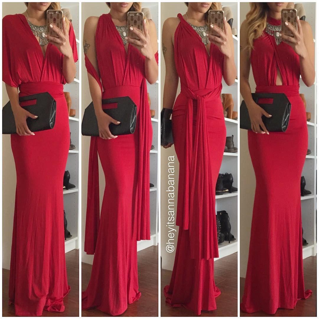 ab4530f4eba93 Multi way maxi dress from  lushfox  lushfox