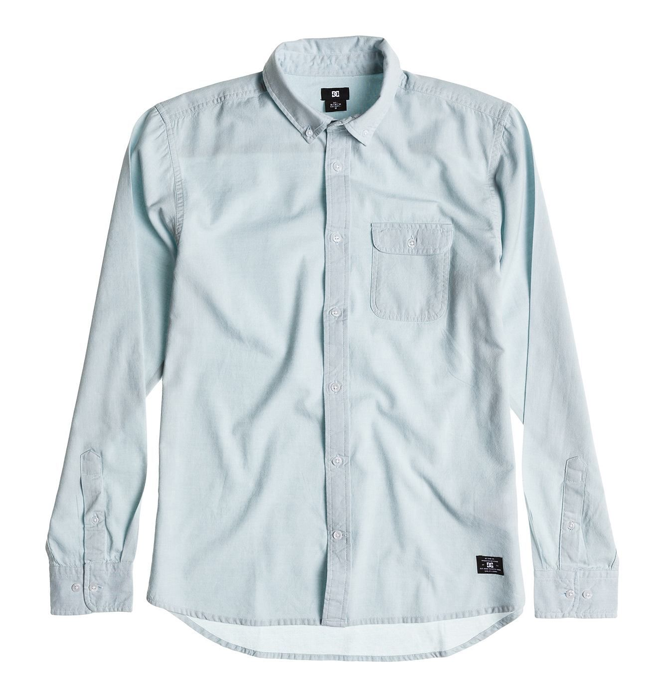 Bover Long Sleeve - Oxford-Hemd für Männer  Wir präsentieren dir stolz Bover Long Sleeve von DC Shoes. Dieses Regular Fit Oxford Shirt für Männer ist Teil der Spring Collection 2015. Weitere besondere Features sind: Aus Baumwolle und 1 Brusttasche mit Patte.  Merkmale:  Oxford-Hemd, Regular Fit, Baumwollgewebe, 1 Brusttasche mit Patte, Button-Down-Kragen,  Dieses Produkt besteht aus:  100% Baum...