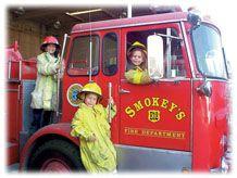 Smokey's Birthday Fire Trucks