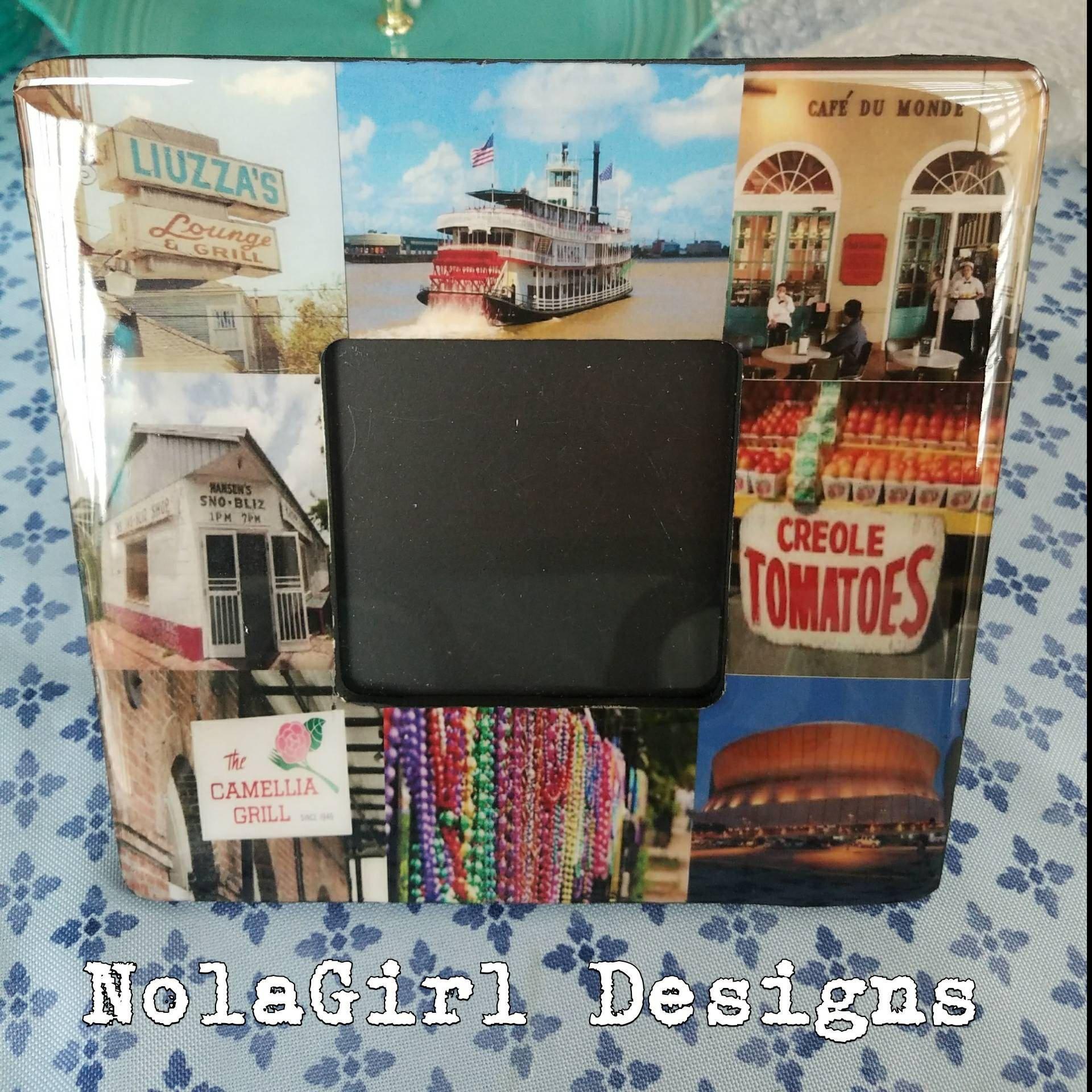 New Orleans, Custom Design Frames, Home decor, Custom frame, Gift ...
