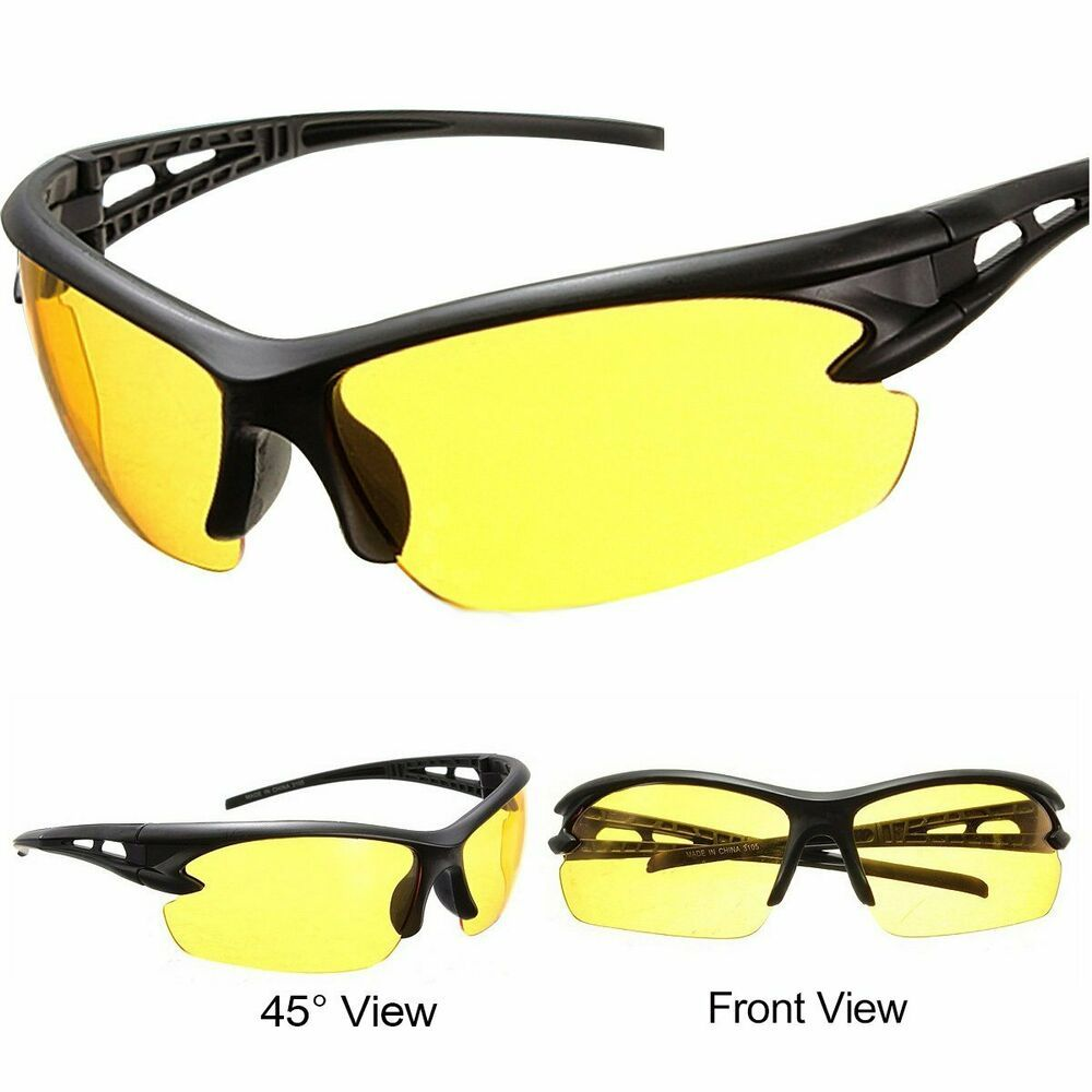 Night Driving Glasses for Men and Women Safety Sunglasses