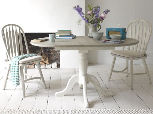 Presto Grey Dining Tables White Round Table