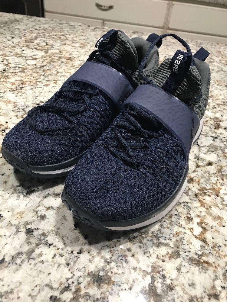 4d17998b730e8 Nike Jordan Trainer 2 Flyknit College Navy Blue 921210-405 MenS Sz 8.5   fashion