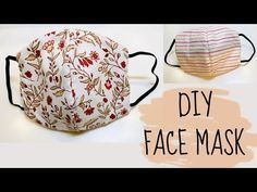 Photo of Make A Reversible and Washable DIY Face Mask: No Sewing Machine Needed
